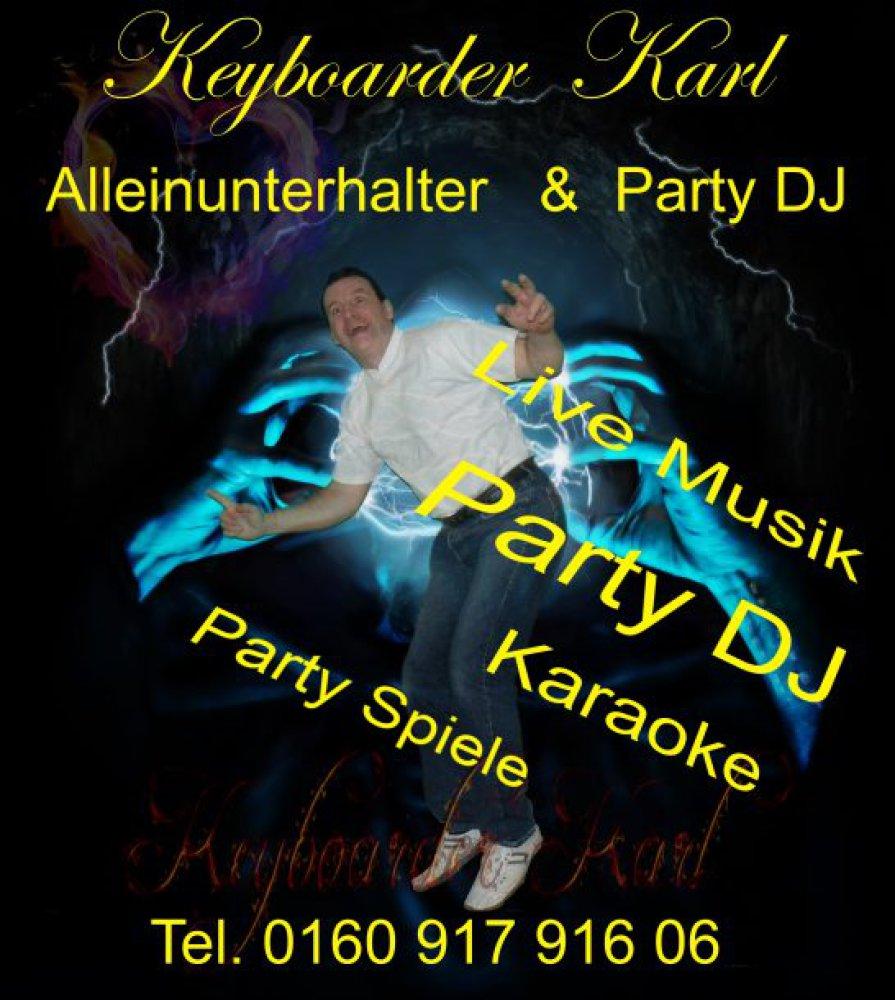 Alleinunterhalter Düren Party DJ Düren Keyboarder Karl Düren Musiker und Entertainer NRW