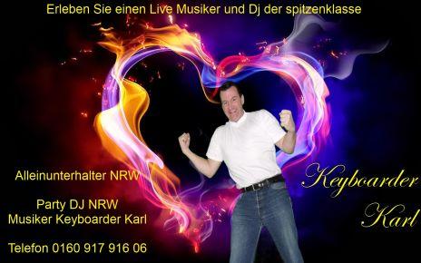 Alleinunterhalter Heinsberg Party DJ Heinsberg Musiker Heinsberg Keyboarder Karl